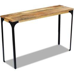vidaXL Solid Mango Wood Console Side Table Sideboard Hall Display Living Room