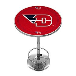 NCAA University of Dayton Chrome Pub Table