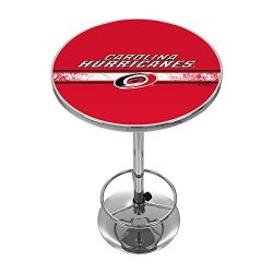Trademark Gameroom NHL Carolina Hurricanes Chrome Pub Table