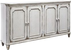 Ashley Furniture Signature Design T505-560 Mirimyn 71″ Accent Cabinet-Vintage Casual, 4-do ...