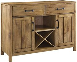 Crosley Furniture Roots Buffet Dining Room Storage – Natural