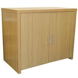 HIDEAWAY – Sideboard Office Computer Storage Desk – Oak by WATSONS