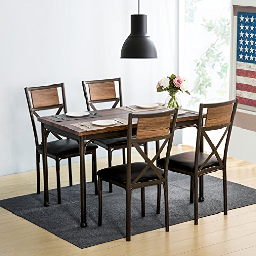 Harper Amp Bright Designs 5 Piece Dining Set Kitchen Table