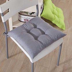 Gotd Indoor Garden Patio Home Kitchen Office Chair Pads Seat Pads Cushion (Orange)