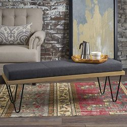 Elaina Bench | Perfect for Dining Table or Entry Way | Danish, Minimal, Mid Century Modern Desig ...
