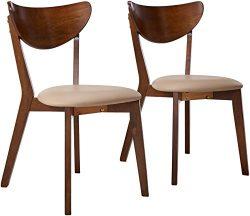 Coaster Home Furnishings Kersey Mid Century Modern Scandinavian Upholstered Seat Cushion Bentwoo ...