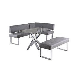Milan Gene 3-Piece Dining Set