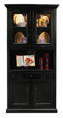 Eagle Corner Dining Hutch/Buffet, Burnt Cinnamon Finish