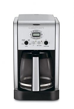 Cuisinart DCC-2600 Brew Central 14-Cup Programmable Coffeemaker with Glass Carafe (Certified Ref ...