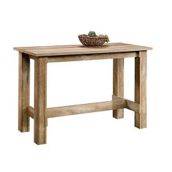 Sauder 416698 Counter Height Dining Table, Craftsman Oak