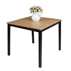 """Need Square Dining Table- 31.5"""" Sturdy and Heavy Duty Writing Desk for Small Spaces and Wr ..."""