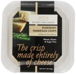 Kitchen Table Bakers Rosemary Parmesan Crisps, 3-Ounce Packages (Pack of 4)