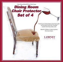 Furniture Protector – LAMINET – Dining Chair Cover – Set of 4