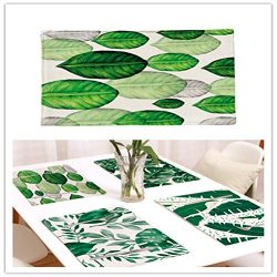 Modern Place Mat Dining Table Mat For Home Kitchen Office Table Décor Heat resistant Non-slip Wa ...