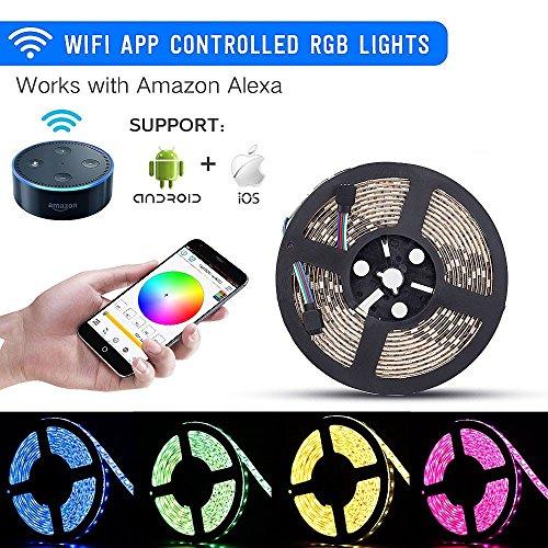 Sanwo Wifi Led Lights Strip Kit Wireless Remote