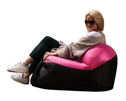 Quickcity Inflatable Lounger Chair – Inflatable Air Couch for Indoor or Outdoor Use – ...