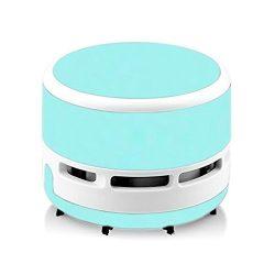 Mini Portable Handheld Cordless Tabletop Crumb Sweeper Desktop Vacuum Cleaner Battery Operated ( ...