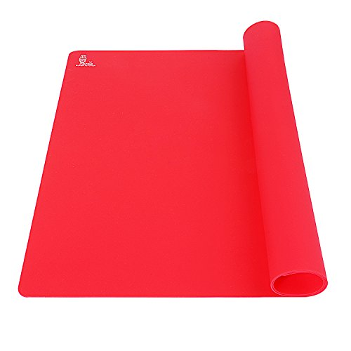 Super Kitchen Extra Large Multipurpose Silicone Nonstick Baking Mat, Pastry Mat, Heat Resistant  ...