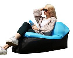Quickcity Inflatable Lounger Chair – Inflatable Air Lounger for Indoor or Outdoor Use R ...