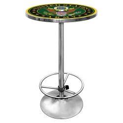United States Army Chrome Pub Table