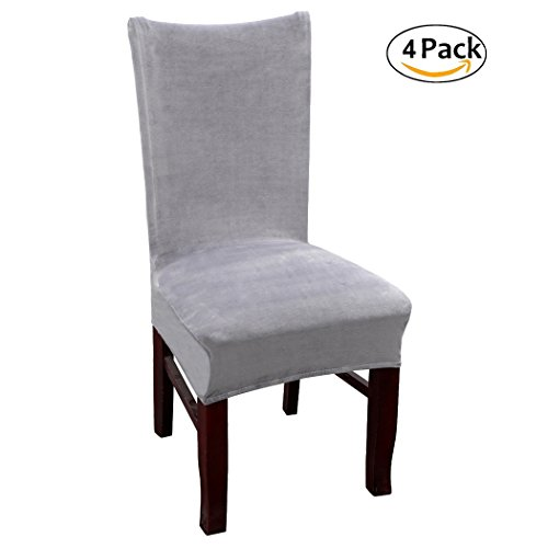 Dining Room Chair Back Covers: Velvet Dinning Room Chair Covers High Back Stetch Dining
