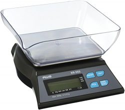 AWS HX-502 Table Top Loader Bench Scale 500g x 0.01g AC Adapter American Weigh Scales