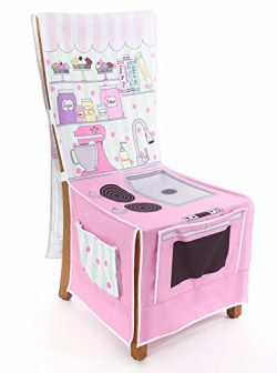 Little Bakery Shop Play Kitchen Chair Cover