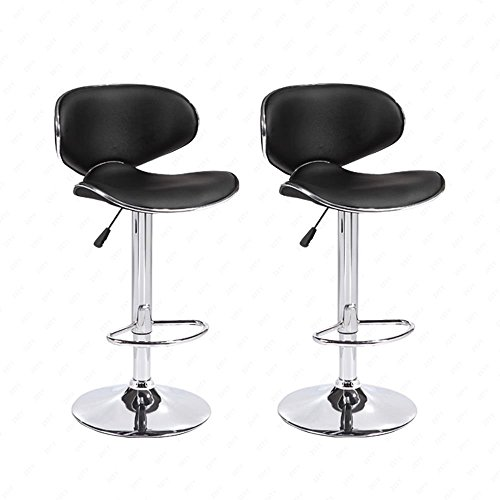 Mecor Dining Chairs Set Of 4 Kitchen Leather Chair With: Mecor Adjustable Swivel Leather Bar Stools Hydraulic