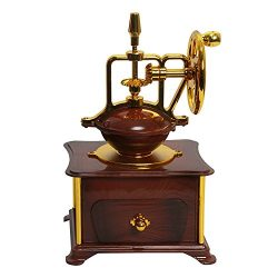 Wind up Music Box Vintage Look Music Box With Jewelry Box – Table Desk Decoration and Gift ...