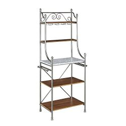 Home Styles Model  5060-65 Caramel Finish The Olreans Baker's Rack Vintage