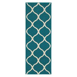 Runner Rug, Maples Rugs [Made in USA][Rebecca] 1'9 x 5′ Non Slip Hallway Entry Area  ...