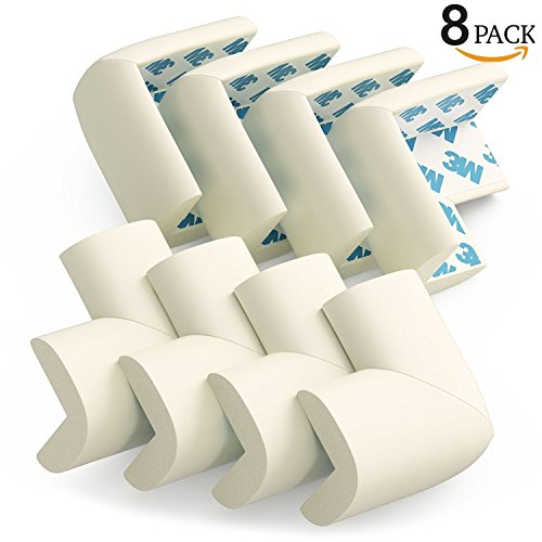 Dmrz Ltd Soft Foam Table Corner Protectors Baby Safety