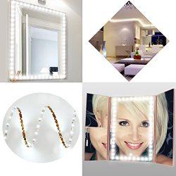 SOLMORE LED Vanity Lights Kit for Makeup 13ft/4m 240 LEDs Make-up Mirror Light Strip for Vanity  ...