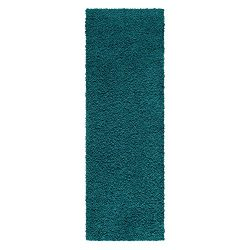 Maples Rugs Runner Rug, [Made in USA][Catriona] 2′ x 6′ Non Slip Hallway Entry Area  ...