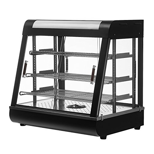 Suncoo Commercial Countertop Food Pizza Warmer Display