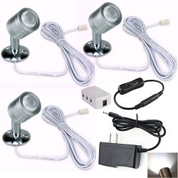 Xking 12V 1W LED Spotlight / Cabinet Light / Jewelry Lamp / Ceiling Light / Display Cabinet Ligh ...