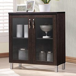 Sintra Sideboard Storage Cabinet with Glass Doors + Expert Guide