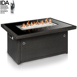 Outland Living Series 401-Slate Grey Fire Table, Slate Grey/Rectangle