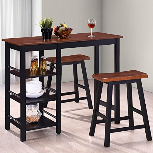 Harper&Bright Designs Tampa Series Dining 3-Piece Table