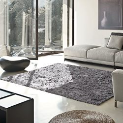 Superior Elegant Shag Rug, Plush and Cozy Hand Tufted Area Rugs, Chic and Contemporary Eyelash S ...