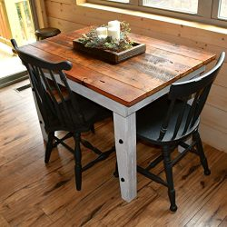 Reclaimed Wood Farmhouse Table – Sugar Mountain Woodworks – Handmade Rustic Wooden W ...