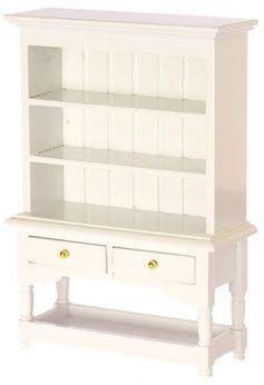 Dollhouse Miniature Kitchen Dining Room Furniture Shabby Chic White Dresser