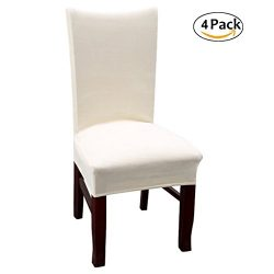 Velvet Dinning Room Stretch Parsons Chair Covers High Back Decor Dining Seat Slipcovers Protecto ...