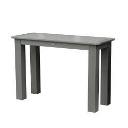 Highwood Counter Height Sideboard Table, 22″ by 54″, Coastal Teak