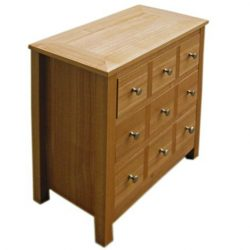 Chest of Drawers Oakridge Multi Drawer Chest Sideboard by LPD Furniture