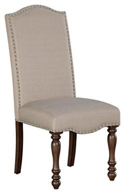 Ashley Furniture Signature Design – Baxenburg Dining Side Chair – Set of 2 – N ...