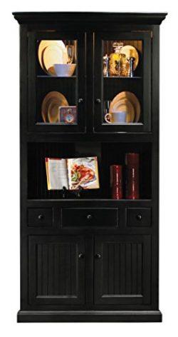 Eagle Furniture 72204PLSB Corner Dining Hutch & Buffet44; Smokey Blue