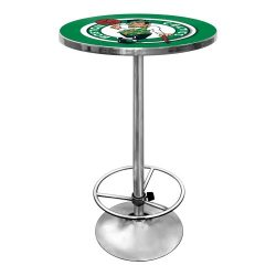 NBA Boston Celtics Chrome Pub Table