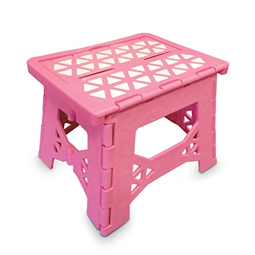 Bula Baby Folding Step Stool For Kids – New Safe Locking System and Non Slip Feet Grip  ...