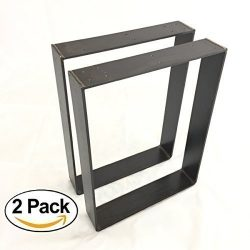 2 Pack – (3″ Wide – 1/4″ Thick Metal) (Size Range: 8-25″ L x 8-25& ...